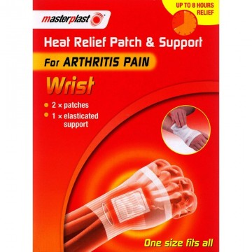 Masterplast Heat Relief Patch and Support WRIST 2 pk.