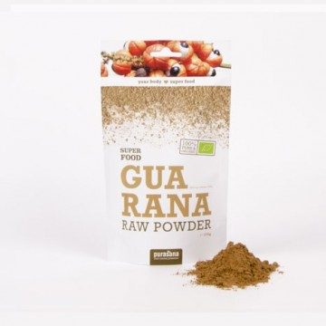 Purasana Guarana Powder ØKO Rawfood 100 g