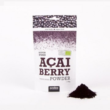 Purasana Acai Powder ØKO Rawfood 100 g
