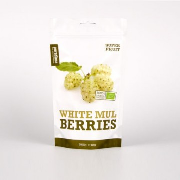Purasana White Mulberries ØKO Rawfood 250 g