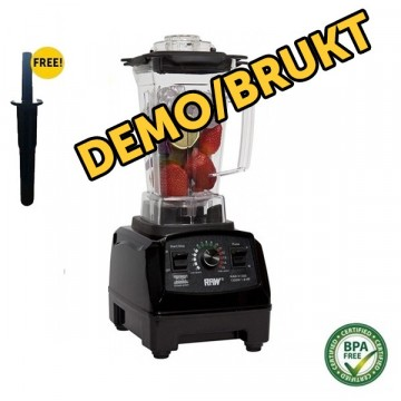 DEMO/LITE BRUKT RAW X1300 1,8 HK 1,5 l. Sort