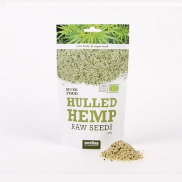 Purasana Hemp Seeds ØKO  Rawfood 200 g