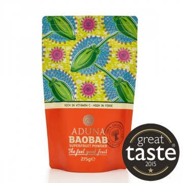 Aduna Baobab Superfruit Powder Rawfood 275 g